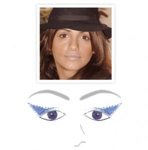 maquillaje ojos-caidos