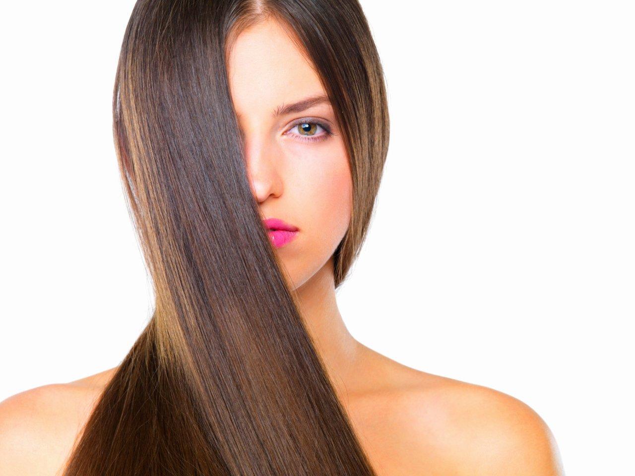 alisar el cabello naturalmente